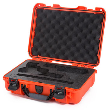 Nanuk 910 2UP Case with Foam insert for Classic Gun, Orange, 910-CLASG3