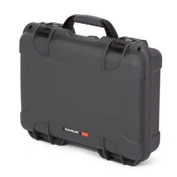 Nanuk 910 Case Graphite with Cubed Foam Watertight, Dustproof 910-1007