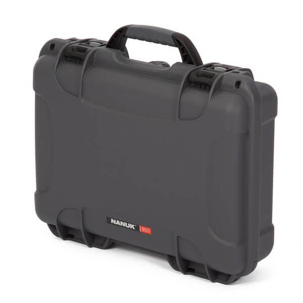 Nanuk 910 Case Graphite with Cubed Foam Watertight, Dustproof 910-1007