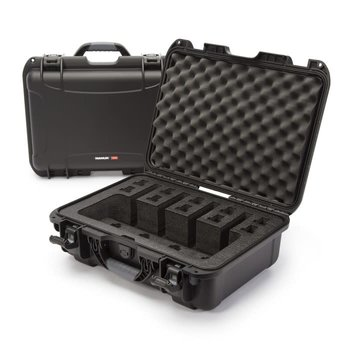 Nanuk 925 Case for 4 Up, Black, w/Foam Insert