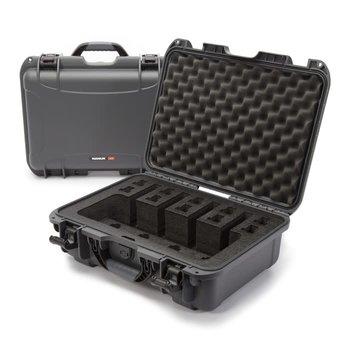 Nanuk 925 Case for 4 Up, Graphite, w/Foam Insert