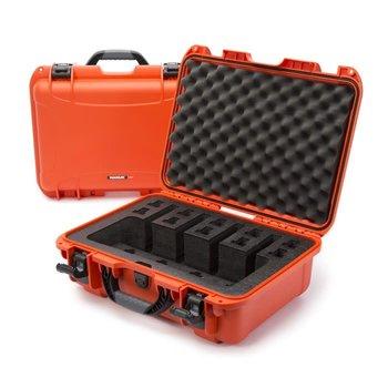 Nanuk 925 Case for 4 Up, Orange, w/Foam Insert