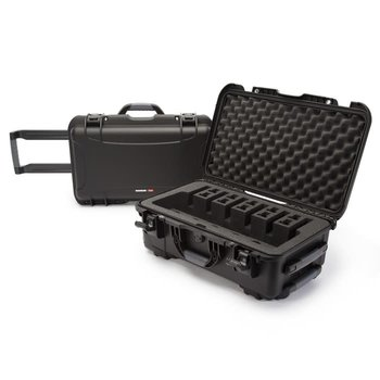 "Nanuk 935 Series Pistol Case with Foam Insert 935-6UP1 - 6 Pistol Cap - 22""L x 14""W x 9""H - Black"