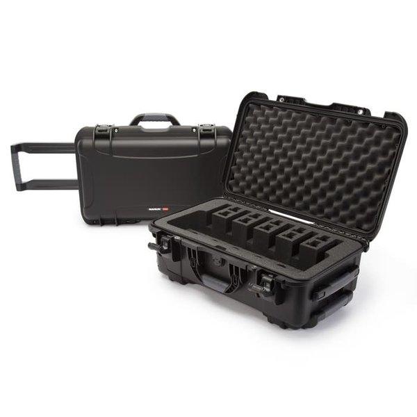 "Nanuk 935 Series Pistol Case with Foam Insert 935-6UP1 - 6 Pistol Cap - 22""L x 14""W x 9""H - Black"