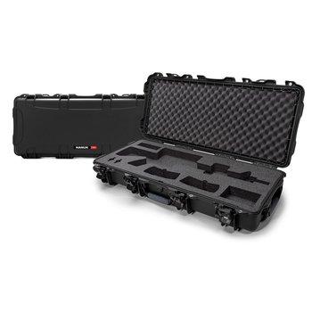 Nanuk 985-AR01 Rifle Case w/Foam Insert for AR, 36.6″ x 14.5″ x 6.0″, Black