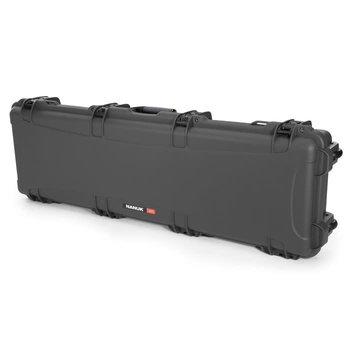 Nanuk 995 Waterproof Professional Gun Case with Foam for Rifle, Graphite, Long 995-1007