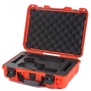 Nanuk 910 Glock® 2 Up Pistol Case Orange 910-GLOCK3