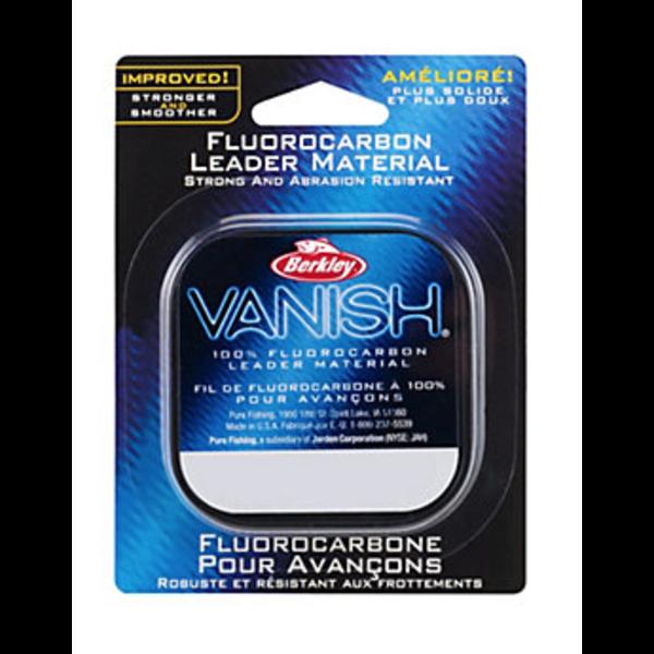 Berkley Vanish 4lb Fluorocarbon Leader Material. 50yds
