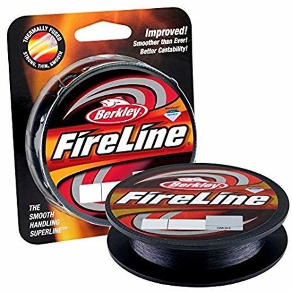 Berkley FireLine Braid 8lb Smoke 125yds