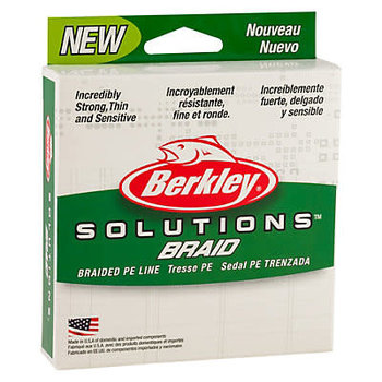 Berkley Solutions 30lb Braid. 110yd Moss Green