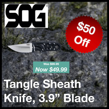 SOG Tangle Sheath Knife