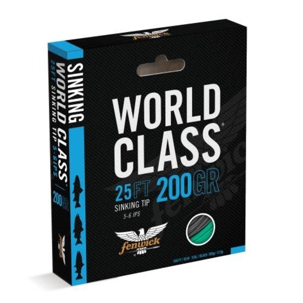 Fenwick World Class Sink Tip 350GR Fly Line. 100' (25' Sink Tip)