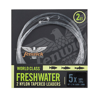 Fenwick World Class Freshwater Leader 9.3lb 3x 9'
