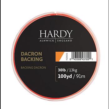Hardy Dacron Backing Orange 100yd