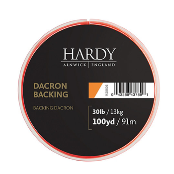 Hardy Dacron Backing Lime Green 100yd