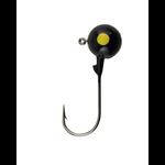 Berkley Round Ball Jigs. 1/16oz Black 8-pk