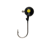 Berkley Berkley Round Ball Jigs. 1/32oz Black 8-pk