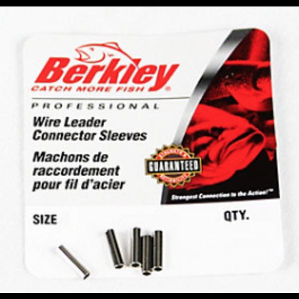 Berkley Wire Leader Connector Sleeves Size 5 90-125lb 15-pk