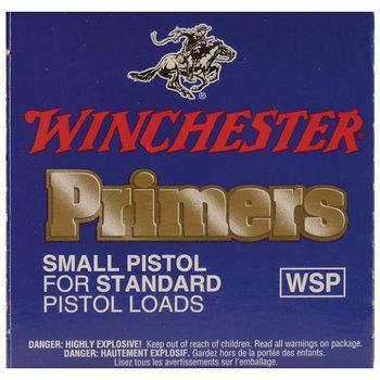 Winchester WSP Small Regular Pistol Primers 100 Pack