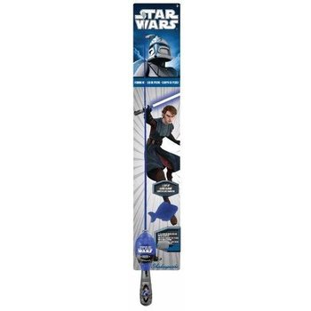 Shakespeare Star Wars Lighted Rod & Reel Combo Kit.