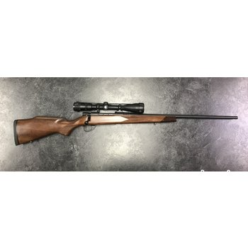 Weatherby Vanguard 257 Wea. Walnut Bolt Action Rifle w/Bausch & Lomb 2.5-10 Scope