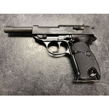 Walther P1 9mm Semi Auto Pistol 1965 w/Holster