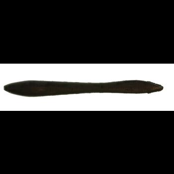 "Gulp Jumbo Leech 5"" Black 8-pk"