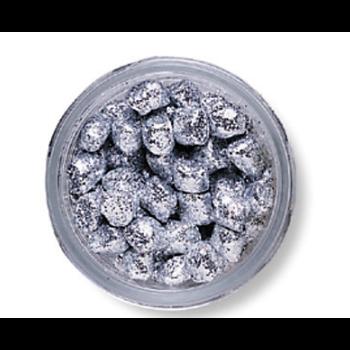 PowerBait Sparkle Crappie Nibbles. Platinum 1.2oz Jar