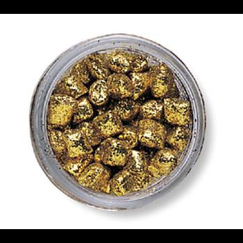PowerBait Sparkle Crappie Nibbles. Gold Rush 1.2oz Jar