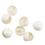 "PowerBait Power Eggs Clear Silver Chartreuse .5oz Bottle ""Garlic"""