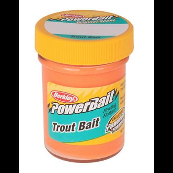 PowerBait Trout Bait Fl Orange 1.75oz Bottle