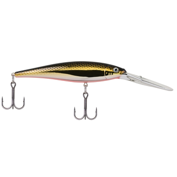 Berkley Flicker Minnow Size 7 Black Brass 3""