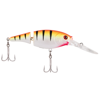 "Berkley Flicker Shad Jointed 2"" Sunset Perch 5-7' Dive"