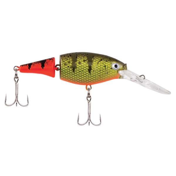 "Berkley Flicker Shad Jointed 2"" Firetail Hot Perch 5-7' Dive"