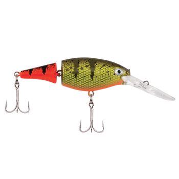 "Berkley Flicker Shad Jointed 3"" Firetail Hot Perch 7-9' Dive"