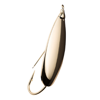 Johnson Silver Minnow Spoon 1/4oz Gold