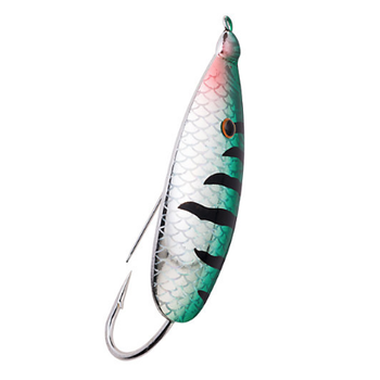 Johnson Silver Minnow Spoon 1/2oz Firetiger Flash