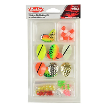 Berkley Walleye Rig Making Kit. 116-pc Kit