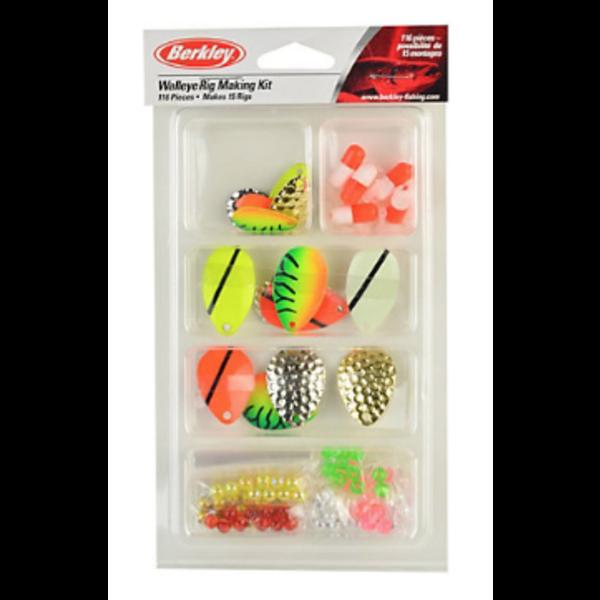 Berkley Walleye Rig Making Kit. 116-pc Kit