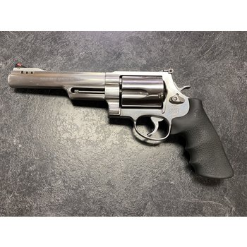 """Smith & Wesson Model 500 6.5"""" Stainless 500 S&W Revolver"""