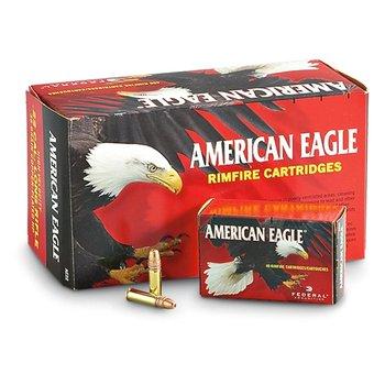 Federal American Eagle 22LR Copper 38gr, Hollow Point, 400rd/Brick