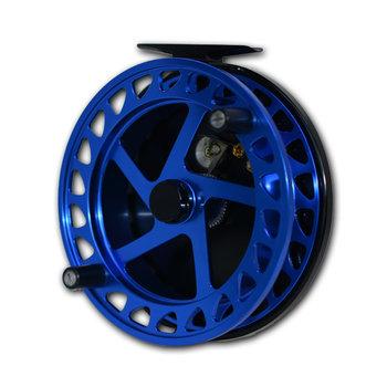 "Raven XL Helix Centrepin Float Reel 5"" Blue/Black"