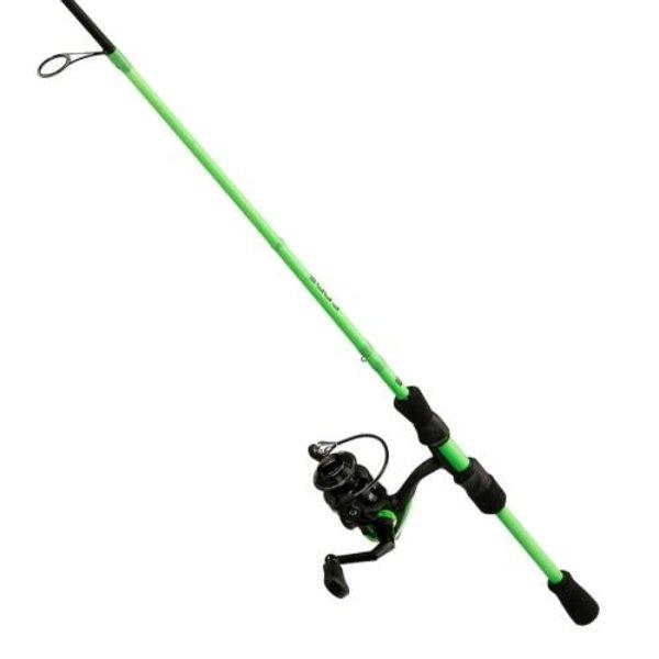 13 Fishing Code Neon 6'7M Spinning Combo. 2-pc
