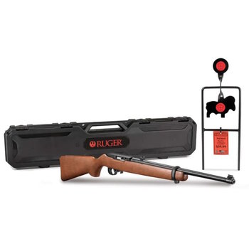 Ruger 10/22 Combo with Case & Steel Target