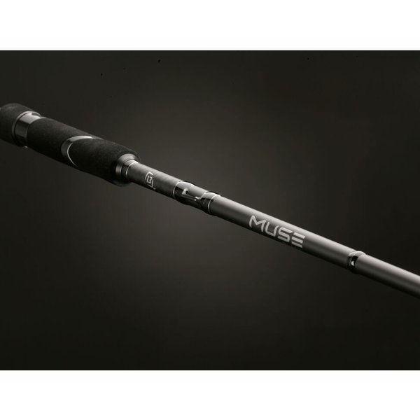 13 Fishing Muse Black 7'1M Fast Spinning Rod. 3/16-5/8oz 6-12lb