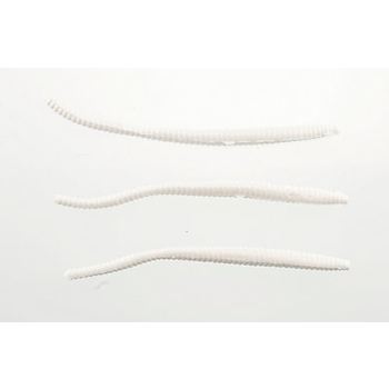 """PowerBait Floating 3"""" Trout Worm White 15-pk"""