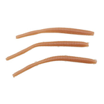 """PowerBait Floating 3"""" Trout Worm Natural 15-pk"""