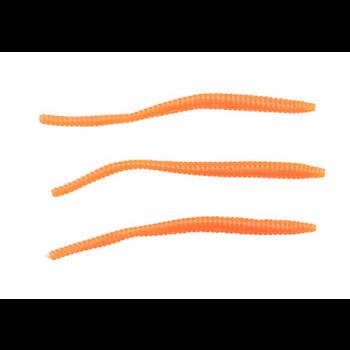"PowerBait Floating 3"" Trout Worm Fluoroscent Orange 15-pk"