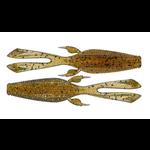 "13 Fishing Rabbit Ear Tail Invader Mustard Water 4.25"""