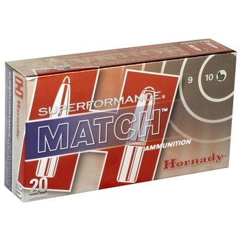 Hornady 80259 Superformance Match Rifle Ammo 223 REM, ELD Match, 73